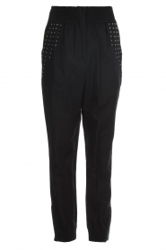 IRO |  Baggy pants with studs Richly | black  | Picture 1