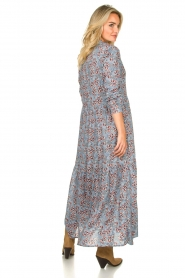 Lolly's Laundry |  Floral maxi dress Penny | blue  | Picture 5