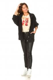 IRO | Oversized spijkerjas Cauron | zwart  | Afbeelding 3