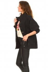 IRO | Oversized spijkerjas Cauron | zwart  | Afbeelding 6
