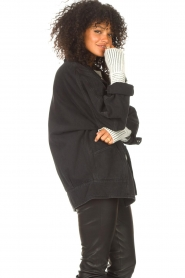 IRO    Oversized denim jacket Cauron   black    Picture 7