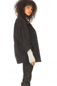 IRO    Oversized denim jacket Cauron   black    Picture 6