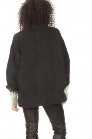 IRO    Oversized denim jacket Cauron   black    Picture 8