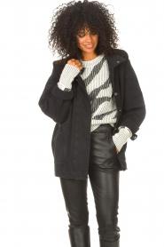 IRO    Oversized denim jacket Cauron   black    Picture 5