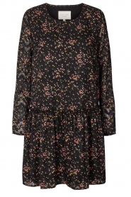 Lolly's Laundry |  Floral dress Gili | black  | Picture 1