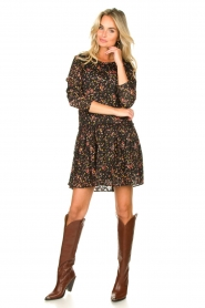 Lolly's Laundry |  Floral dress Gili | black  | Picture 3