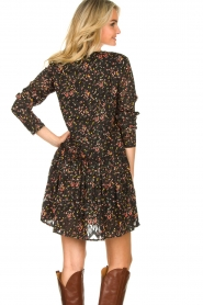 Lolly's Laundry |  Floral dress Gili | black  | Picture 8