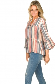 Lolly's Laundry |  Striped blouse Toga | multi  | Picture 5