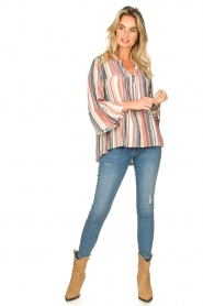 Lolly's Laundry |  Striped blouse Toga | multi  | Picture 3