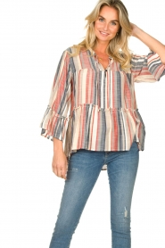 Lolly's Laundry |  Striped blouse Toga | multi  | Picture 2