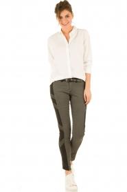 IKKS | Jeans Amal lengtemaat 30 | grijs  | Afbeelding 3