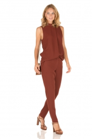Dante 6 | Pantalon Russel | Tamarinde bruin  | Afbeelding 3