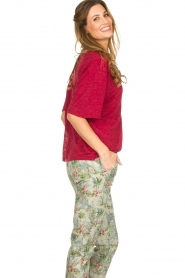 IRO |  Top with braided detail Kind | red  | Picture 4