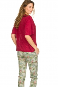IRO |  Top with braided detail Kind | red  | Picture 5