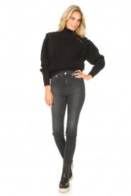 IRO | Gebreide trui Macky | zwart   | Afbeelding 3