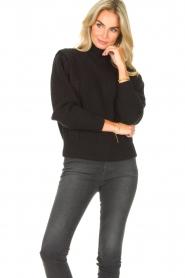 IRO | Gebreide trui Macky | zwart   | Afbeelding 4
