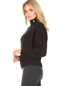 IRO | Gebreide trui Macky | zwart   | Afbeelding 7