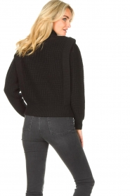 IRO | Gebreide trui Macky | zwart   | Afbeelding 6