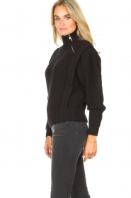 IRO | Gebreide trui Macky | zwart   | Afbeelding 5