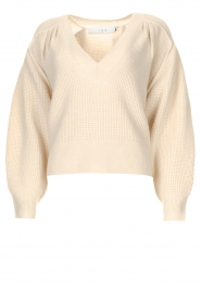 IRO |  Knitted sweater Makaho | creme  | Picture 1