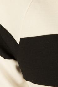 DAY Birger et Mikkelsen | V-hals jurk Clear | zwart/wit  | Afbeelding 6