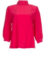 IRO |  Blouse with button detail Sense | pink  | Picture 1