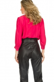 IRO |  Blouse with button detail Sense | pink  | Picture 6