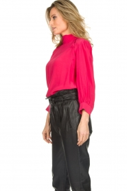 IRO |  Blouse with button detail Sense | pink  | Picture 5