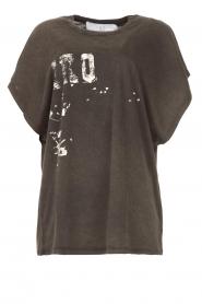 IRO |  Oversized T-shirt Gruncy | black  | Picture 1