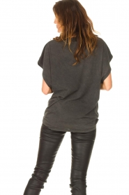 IRO |  Oversized T-shirt Gruncy | black  | Picture 7