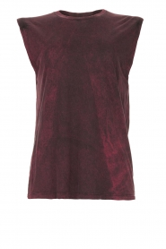 IRO |  Sleeveless top Polette | red   | Picture 1