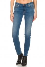 7 For All Mankind |  Slim illusion skinny jeans Pyper | light blue  | Picture 3