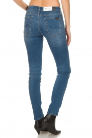 7 For All Mankind |  Slim illusion skinny jeans Pyper | light blue  | Picture 5