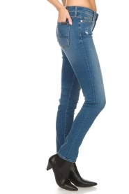 7 For All Mankind |  Slim illusion skinny jeans Pyper | light blue  | Picture 4