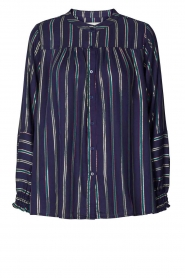 Lolly's Laundry |  Striped blouse Sadie | blue  | Picture 1