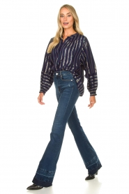 Lolly's Laundry    Striped blouse Sadie   blue    Picture 3