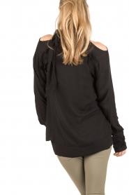 IRO | Cut-out blouse Frejan | zwart  | Afbeelding 5