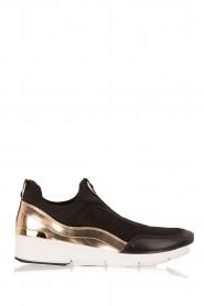 MICHAEL Michael Kors | Slip-on sneakers Ace | zwart  | Afbeelding 1