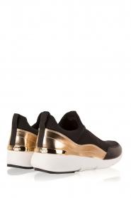 MICHAEL Michael Kors | Slip-on sneakers Ace | zwart  | Afbeelding 4