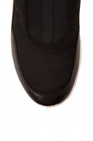 MICHAEL Michael Kors | Slip-on sneakers Ace | zwart  | Afbeelding 5