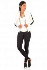 MICHAEL Michael Kors | Slip-on sneakers Ace | zwart  | Afbeelding 2
