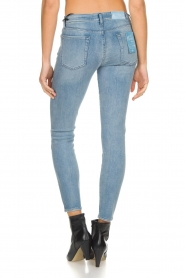 7 For All Mankind |  Cropped skinny jeans Bair | blue  | Picture 6