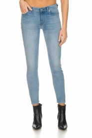 7 For All Mankind |  Cropped skinny jeans Bair | blue  | Picture 2