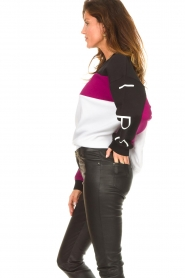 IRO | Oversized trui Cally | zwart  | Afbeelding 5