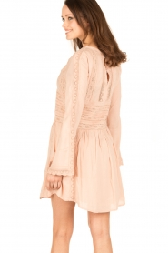 IRO |  Tunic dress Kelen | old pink  | Picture 5