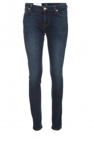 7 For All Mankind |  Slim illusion skinny jeans Pyper | blue