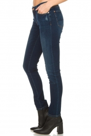 7 For All Mankind | Slim illusion skinny jeans Pyper | blauw  | Afbeelding 4