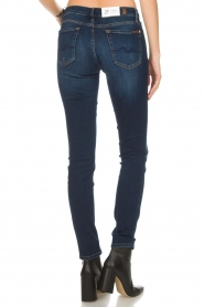 7 For All Mankind | Slim illusion skinny jeans Pyper | blauw  | Afbeelding 5