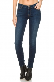 7 For All Mankind | Slim illusion skinny jeans Pyper | blauw  | Afbeelding 3