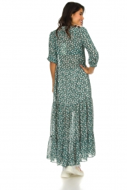 Lolly's Laundry |  Printed maxi dress Nee | green  | Picture 6